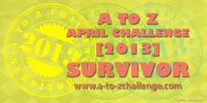 atoz-survivor-2013