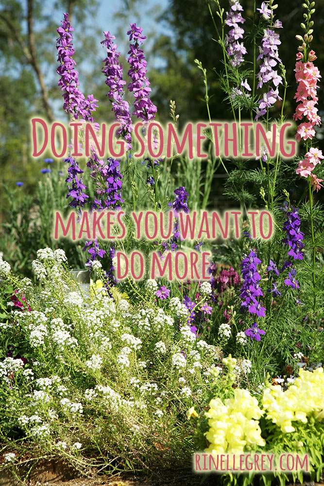Doing something makes you want to do more